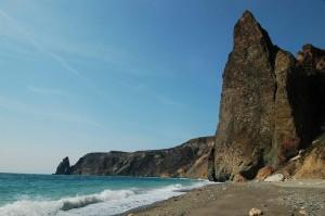 отдых на фиоленте, яшмовый пляж